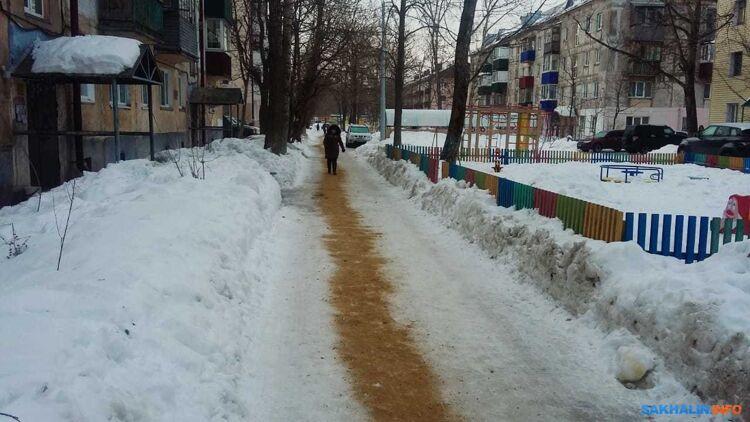 В южно-сахалинских Черемушках, фото ИА Sakh.com