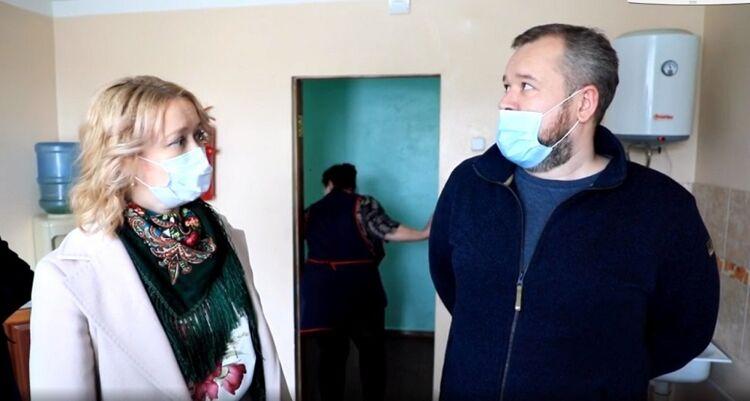 Анастасия Киктева и Виталий Бибиков