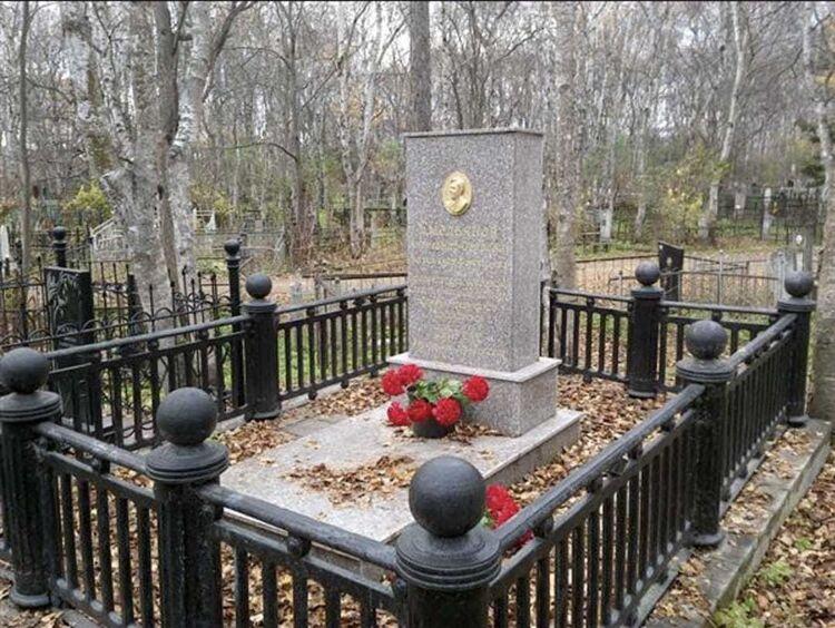 Место захоронения Александра Емельянова. 2019 год. Фото пресс-службы мэрии