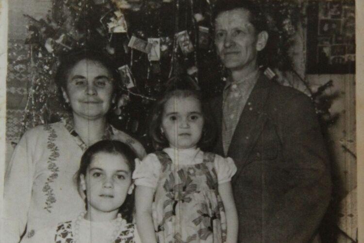 Вторая семья отца, 50-е годы, Бурятия