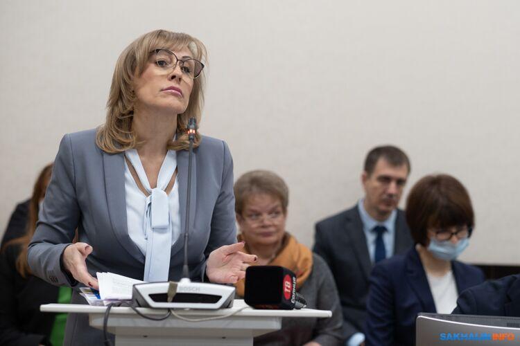 Министр финансов Ольга Лопатина