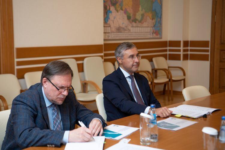 Валерий Фальков (справа), фото ПСО