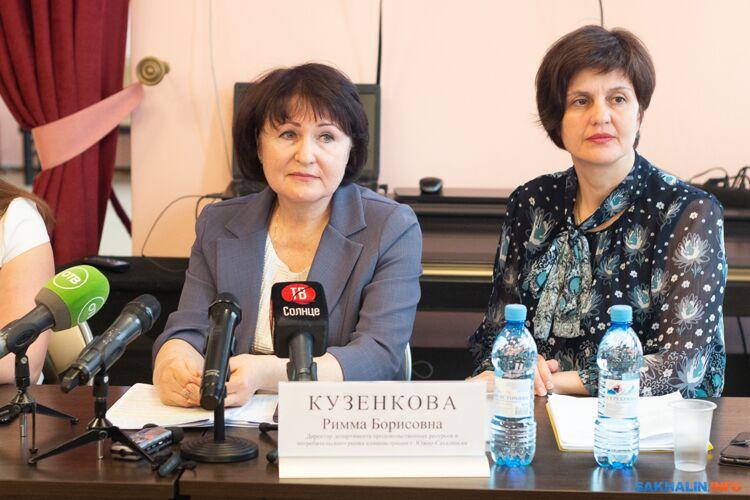 Римма Кузенкова (слева)