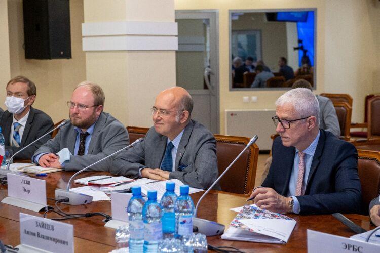 Встреча в ПСО с делегацией из Франции