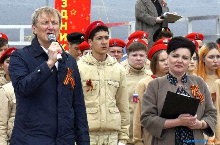Вадим Рокотов и Лилия Анохина