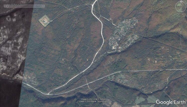 Съемка территории 2013 года