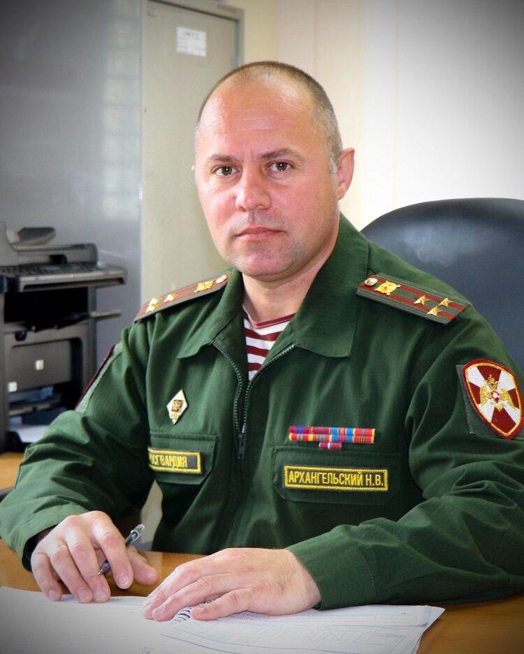 Назар Архангельский. Фото Росгвардии