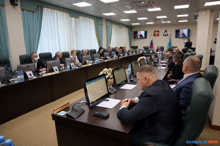 Сахалинским депутатам надоело, чтоМосква не дает ни копейки наразвитие Курил