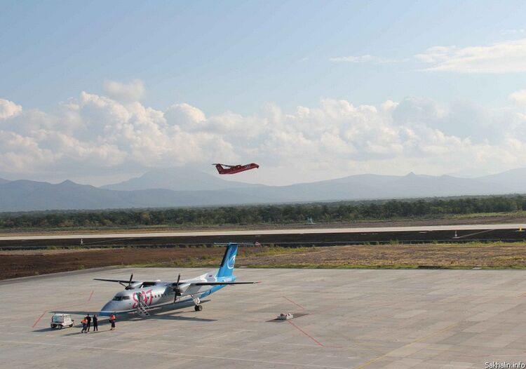 Первый пассажирский взлет с Итурупа