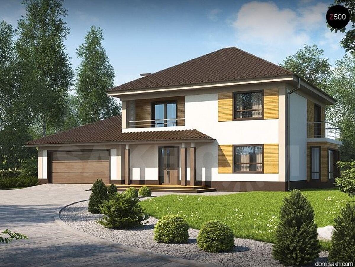 Дом 2 этажа с гаражом 225 кв.м / дом вашей мечты / каркасные.