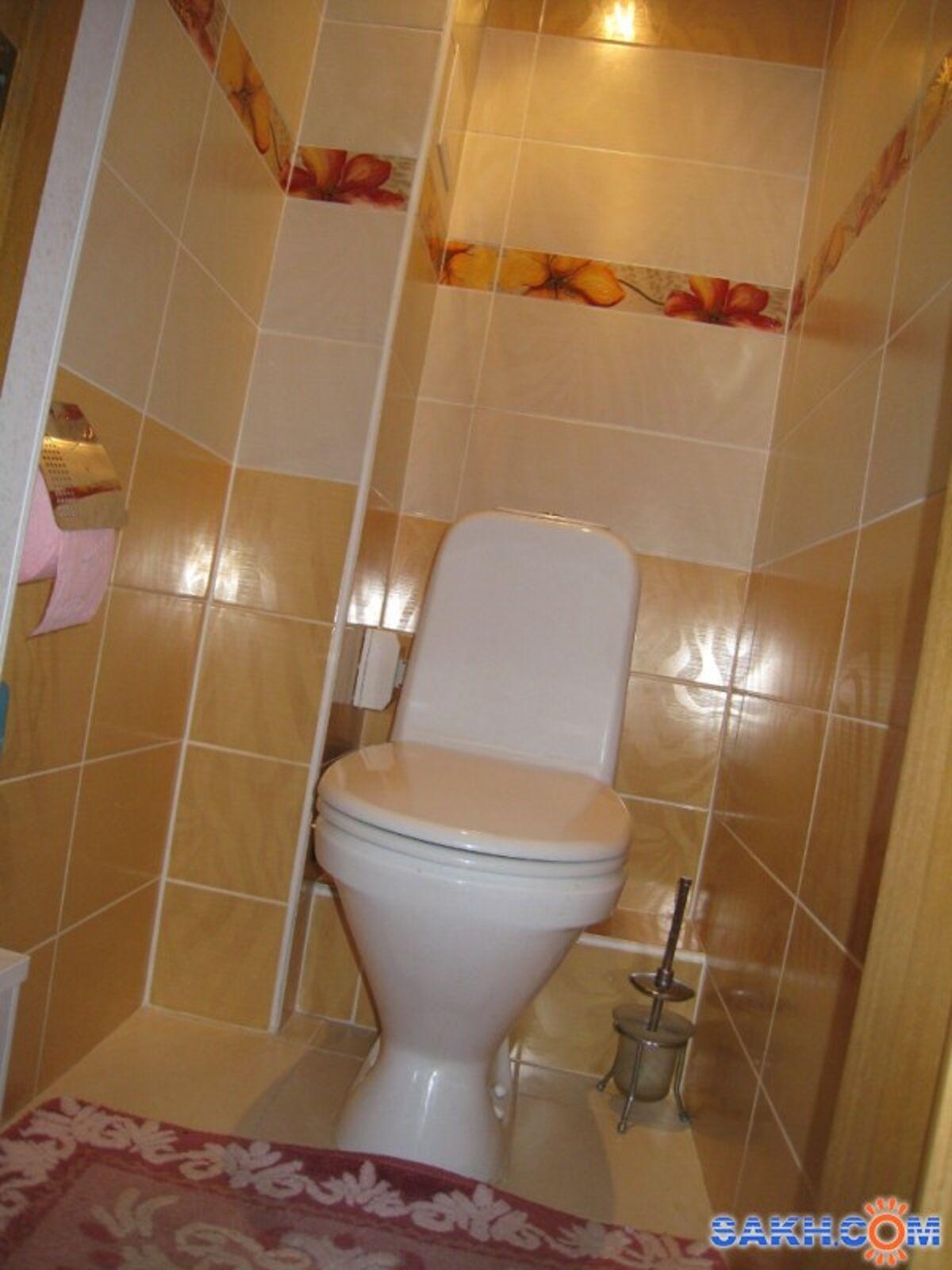 Ремонт в туалете панелями пвх