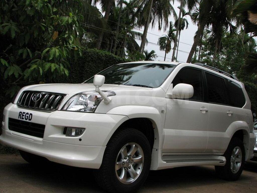 ТЮНИНГ ОБВЕСЫ > Toyota Land Cruiser Prado 120 ''Elford''