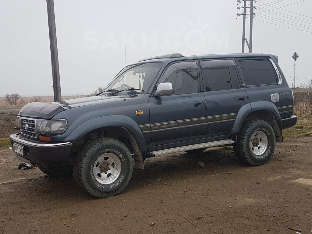 Toyota Land Cruiser, 1991