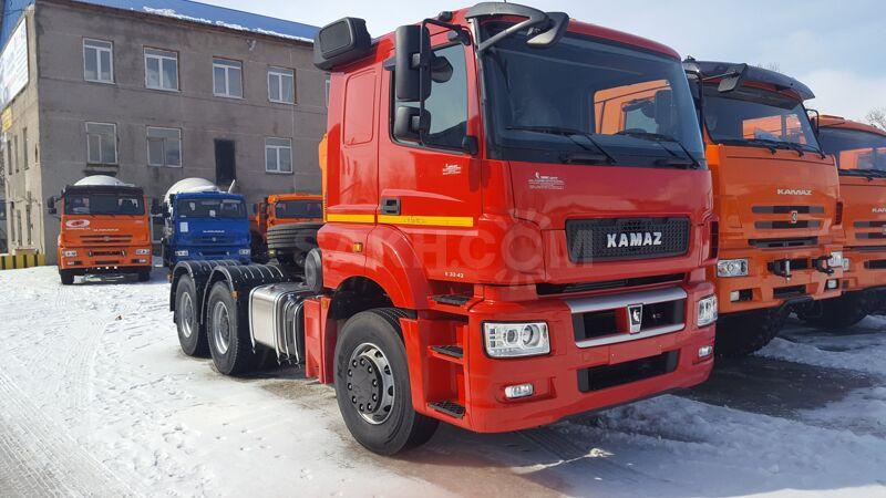 КамАЗ 65806, 2019