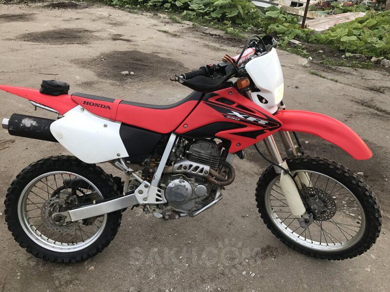 Honda XR250, 2005