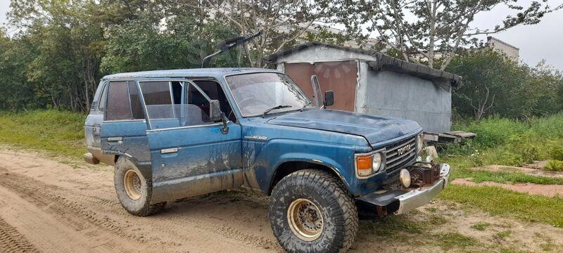 Toyota Land Cruiser, 1984