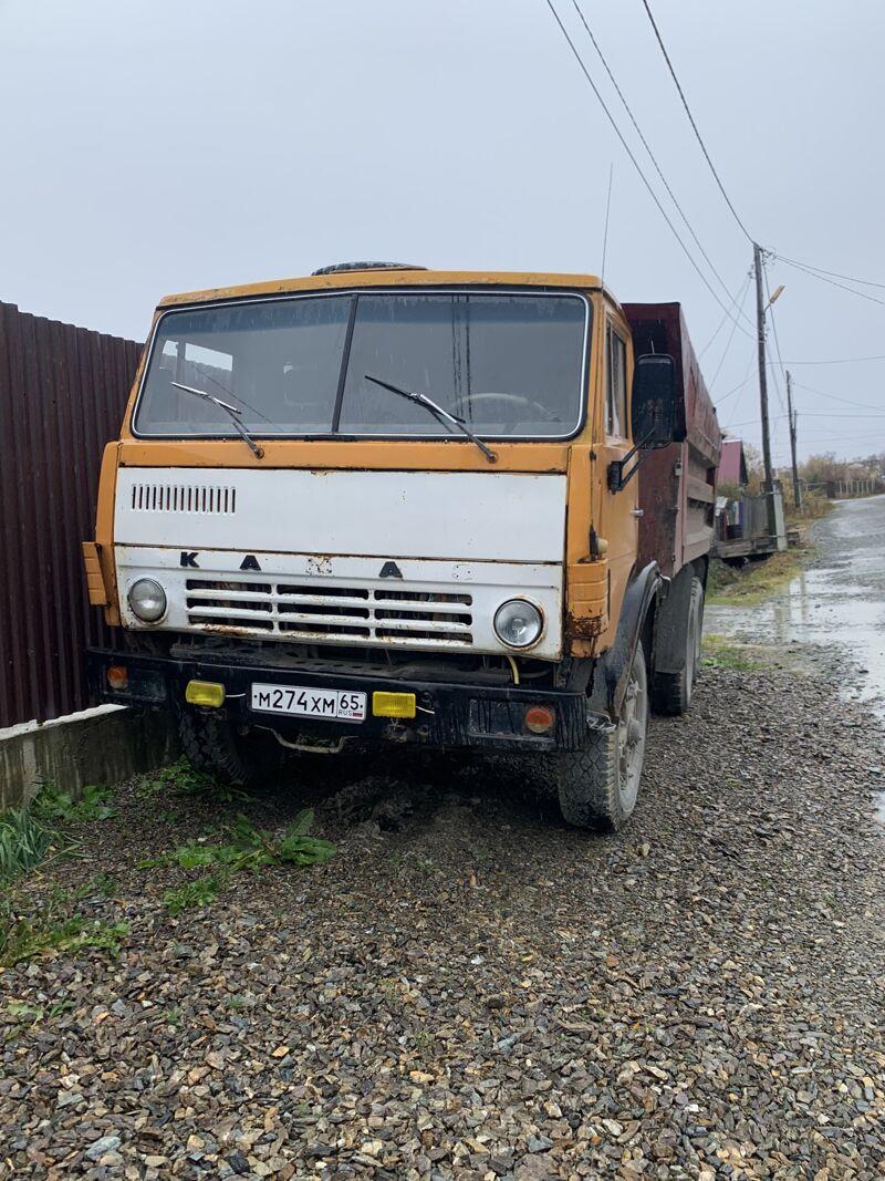 КамАЗ 55111 (6х4), 1982