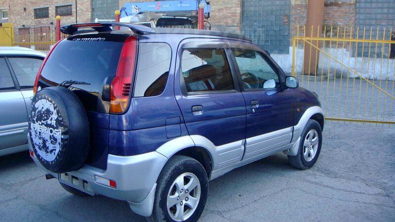 Daihatsu Terios, 2004