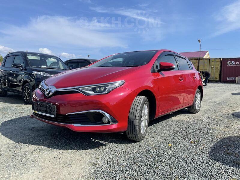 Toyota Auris, 2016