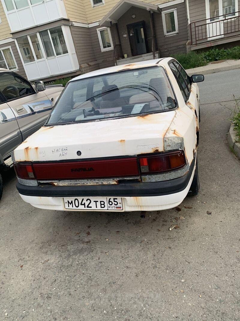 Mazda Familia, 1984