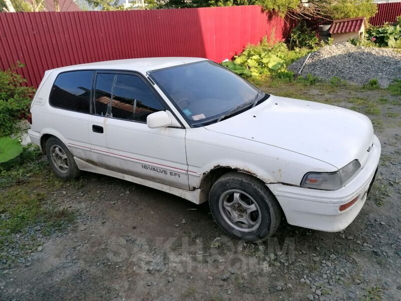 Toyota Corolla FX, 1989