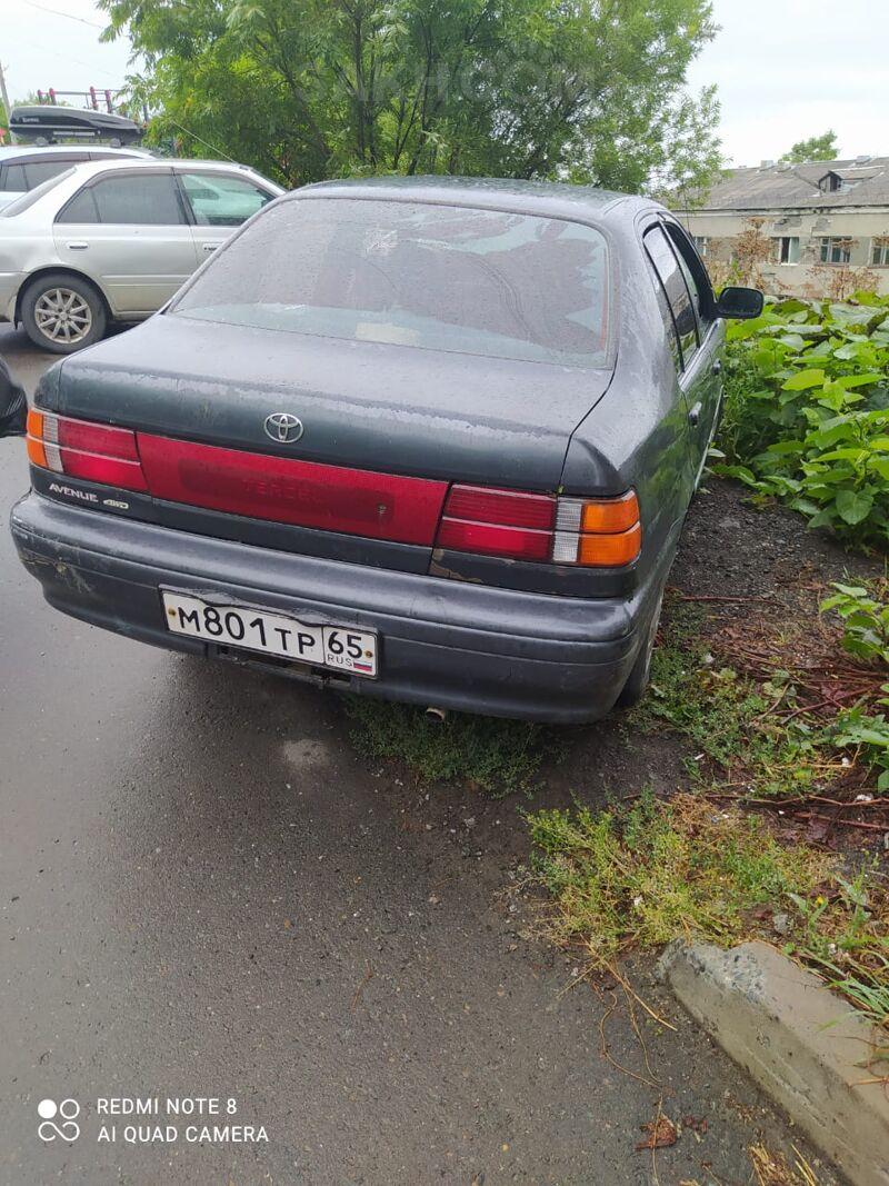 Toyota Tercel, 1991