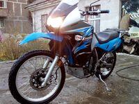Kawasaki KLR650, 2008