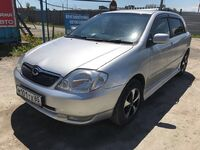 Toyota Allex, 2003