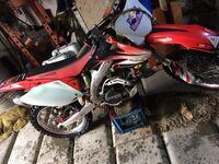 Honda CRF450, 2008