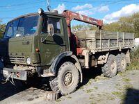 КамАЗ 43118 (6x6), 1989