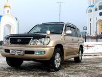 Toyota Land Cruiser Cygnus, 2000