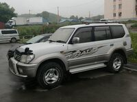 Toyota Land Cruiser Prado, 2001