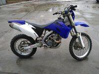 Yamaha WR 250F, 2007