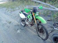 Kawasaki KLX250, 2003
