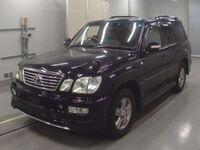 Toyota Land Cruiser Cygnus, 2005